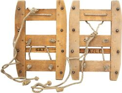 Vintage Swiss Military Mountain Troop Snowshoes $76.95