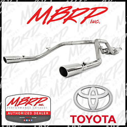 MBRP Cat Back Dual Exhaust Kit Fits 2009-2019 Toyota Tundra 4.6L