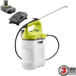 Ryobi Electric Cordless Chemical Fertilizer Sprayer Pump Spray Battery Charger $108.27