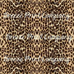 Jaguar print craft vinyl sheet - HTV -  Adhesive Vinyl -  leopard cheetah patter