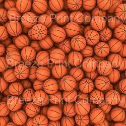 Basketball print craft  vinyl sheet - HTV -  Adhesive Vinyl -  pattern vinyl spo