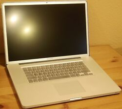 Used Macbook Pro 17
