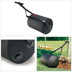 Lawn Mower Roller Combination Push Tow Poly Heavy Duty Steel Rust Resist Large