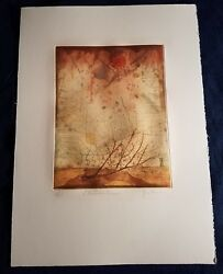 PLEASE HELP IDENTIFY ARTIST! MODERN LIMITED EDITION SIGNED PRINT FRENCH ABSTRACT