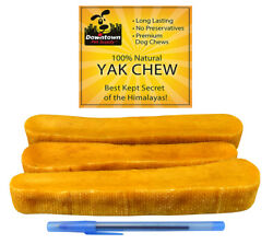 Himalayan Yak Chew Healthy 100% All Natural Dog Pet Treats for All Sizes Dogs $11.49