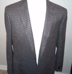 $3195  BELVEST pure Cashmere   Sport Coat Size 44 R hand made in italy