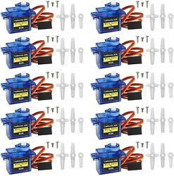 (351020)Pack SG90 Micro 9g Servo for RC Plane Helicopter Boat Car USA Stock $7.99