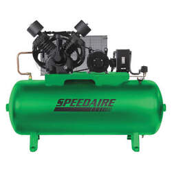 SPEEDAIRE Elec. Air Compressor2 Stage15HP50CFM 35WC59