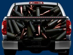 Ammunition- Tailgate & Window Wrap KIT- Truck Tailgate Vinyl Graphic Decal Wrap