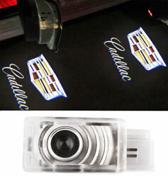 2 Welcome Courtesy Light LED Projector Lamp Ghost Shadow Door light For Cadillac $12.85