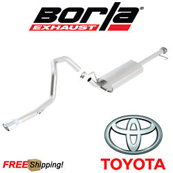 BORLA Touring Cat-Back Performance Single Exhaust 10-18 Toyota 4Runner 4.0L 4DR