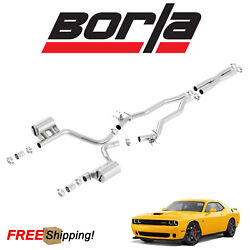 BORLA ATAK Cat-Back Performance Dual Exhaust 2015-2018 Challenger SRT 6.4L V8
