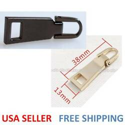 #5 Zipper Fixer Repair Pull Tab Instant Kit Bags Replacement Molded Slider Fix
