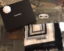 Chanel 100% Cashmere Stole From SpringSummer 18 Collection PERFECT CONDITION