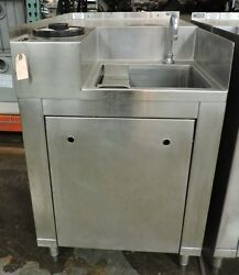 Elkay S.S.P. Custom Commercial 1 Compartment Stainless Steel Sink