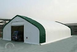 40X80X20 HIGH CEILING STORAGE SHELTER CANVAS BUILDING CARPORT FABRIC 5 YEAR PVC