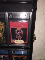 1997 MICHAEL JORDAN UD SP Authentic Sign Of The Times Star  Rookie BGS 8.5
