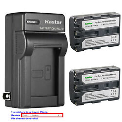 Kastar Battery Wall Charger for Sony NP FM50 NP FM30 FM50 FM50 NP FM55H NP QM51 $29.99