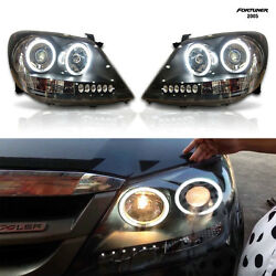 Head Light LED Projector Blace For TOYOTA Fortuner Y05-09 Before Facelift GGN