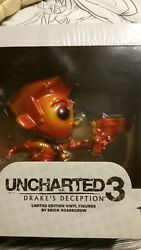 Very rare autographed collectors uncharted esc toy figure promo