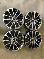 "4 NEW Takeoff 2005-2019 Ford F150 FX4 18"" Factory OEM Gray Machined Wheels Rims"