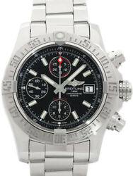 BREITLING Avenger 2 A13381 Free Shipping Working Properly (d43