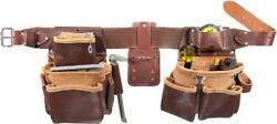 Occidental Leather 5080DB M Pro Framer Tool Belt Set with Double Outer Bags...