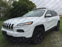 Led Light Bar Brackets For Jeep Cherokee KL Curved Trailhawk Latitude 2014-19