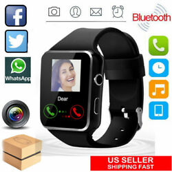 Bluetooth Smart Watch Unlocked Phone w Camera for Women Men Kids Android Phone