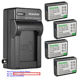 Kastar Battery Wall Charger for Canon LP E10 LC E10 amp; Canon EOS Rebel T6 Camera $22.99