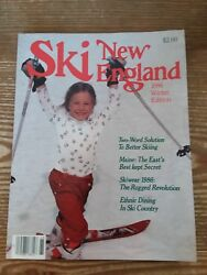 1986 SKI NEW ENGLAND MAG. WINTER ED. EX MINT A LOOK BACK INTO SKIING 32 YRS AGO $2.90