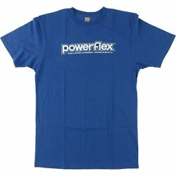 Powerflex Logo T Shirt Size: SMALL Royal White $28.99