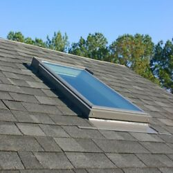 VELUX Fixed Skylight Roof Window 30.06 in. x 37.88 in. Deck Mount Low E3 Glass