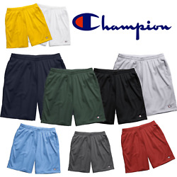 Champion Long Mesh Men#x27;s Short with Pockets 9 inches Inseam $17.95