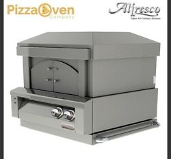 Alfresco Natural Gas 30 Inch Built In pizza oven OUTDOOR ALF-PZA BI New
