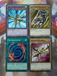 Yugioh Set Gaia the Dragon Champion Curse of Dragon Polymerization NM $6.99