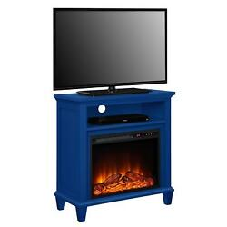 Ellington Electric Fireplace Accent Table TV Stand for TVs up to 32