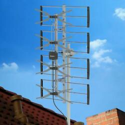Leadzm HDTV 1080P 150 Mile Outdoor Amplified TV Antenna UHF Digital Signals $28.85