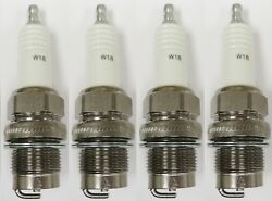 Champion Large Industrial Spark Plug 518 W18 Pack of 4 $38.95