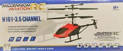 Millenium Aviation H101 3.5 CH Mini RC Helicopter Remote Control Aircraft Toy $14.99