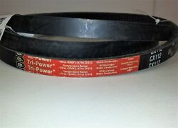 Gates Tri Power CX112 V80 Cogged Matched V Belt 7 8 x 116 in 22 x 2946 mm $24.00