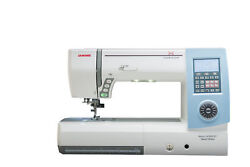 Janome MC8900QCP SPECIAL EDITION Sewing and Quilting Machine Light Blue