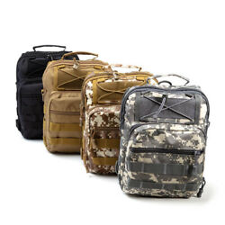 Mini Tactical Backpack MOLLE EDC Shoulder Pack Travel Survival Bag