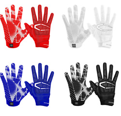 Cutters S652 Gamer 3.0 Padded Receiver Gloves Football Gloves PAIR ADULT $54.99
