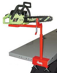 Handy Lift Table Work Bench Lawn Garden Tool Kit Attachment
