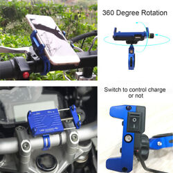 Universal Motorcycle Phone Mount for LG Bicycle Phone Holder for Samsung Huawei $13.49