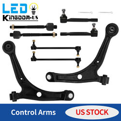 8pcs Front Lower Control Arms Tie Rod Suspension Kit For Acura MDX Honda Pilot $105.99