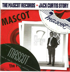 Brand New The Mascot Records  Jack Curtis Story 1958-1973 CD Spiders P-Nut GWB