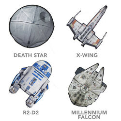 Disney#x27;s Star Wars Kites Millennium Falcon R2 D2 X Wing or the Death Star $12.99