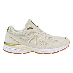 New Balance 990 Men's Shoes Made In USA CreamMetallic Gold M990-AG4